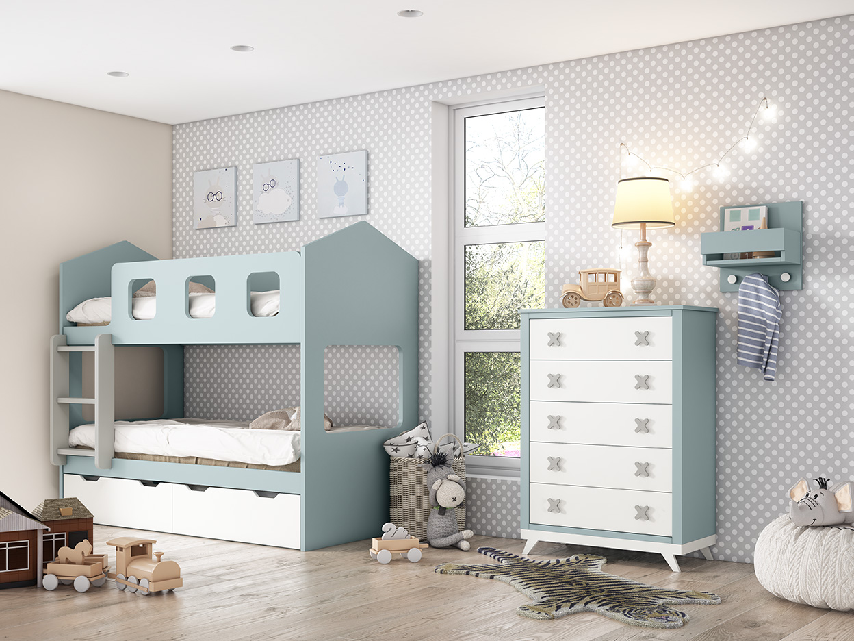 Dormitorios infantiles y juveniles MuecoCeuta